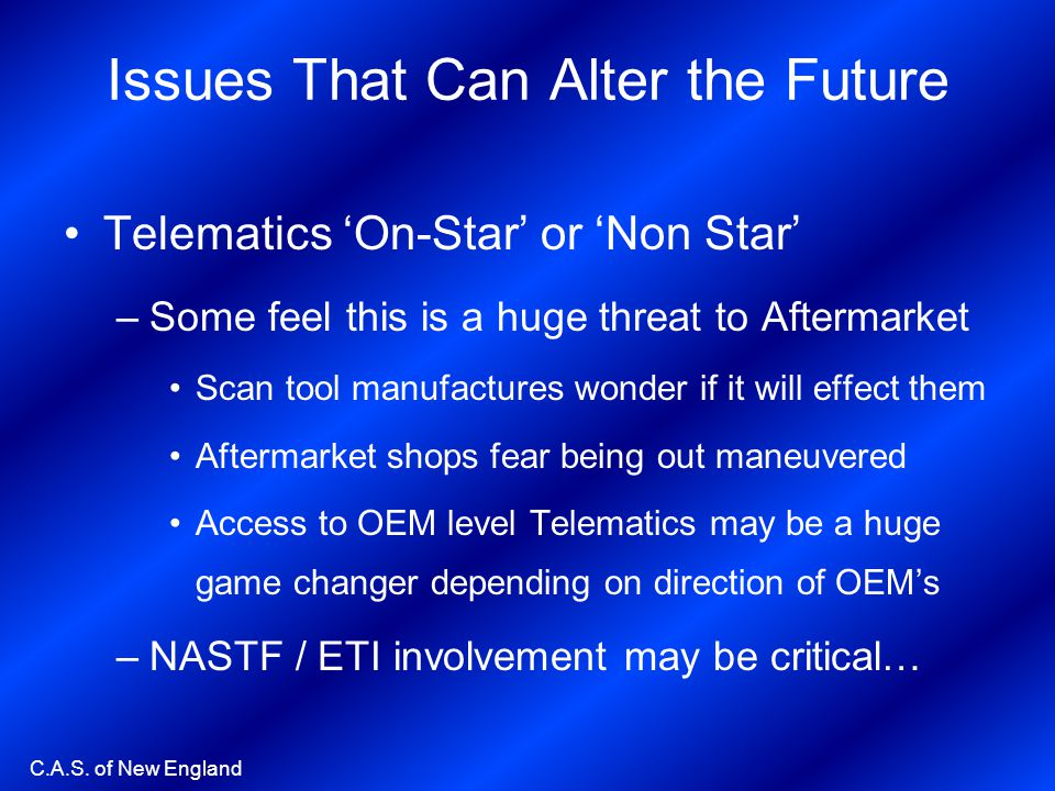 Issues That Can Alter the Future
