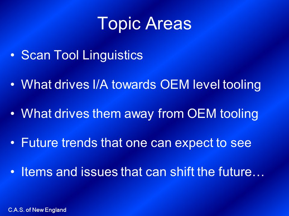 Topic Areas Scan Tool Linguistics
