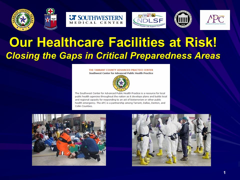Our Healthcare Facilities at Risk