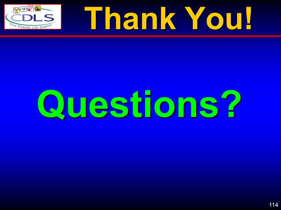Thank You! Questions - Encourage students to ask questions openly……there are no stupid questions.