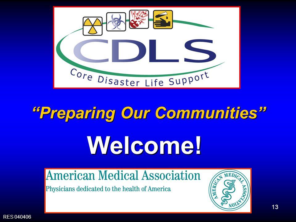 Preparing Our Communities