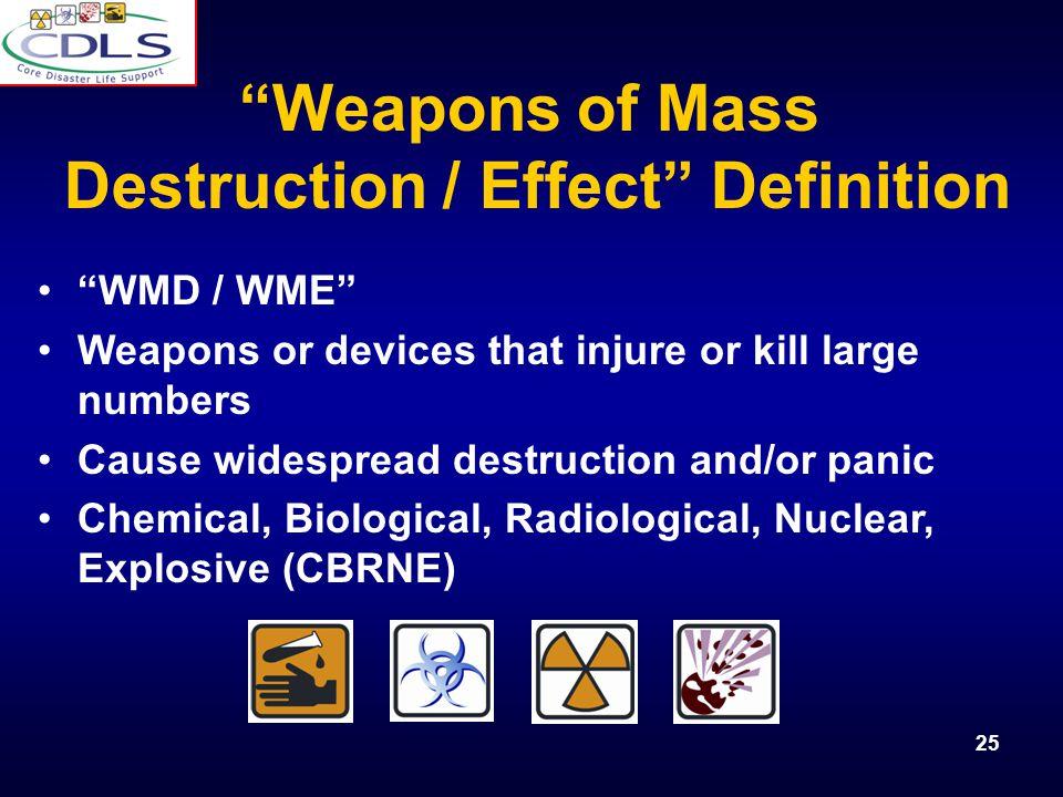 Destruction / Effect Definition