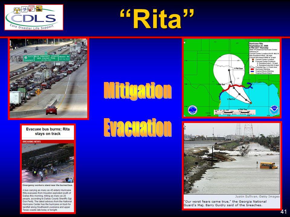 Rita Mitigation Evacuation