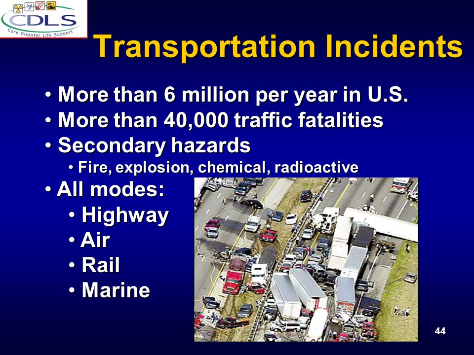 Transportation Incidents