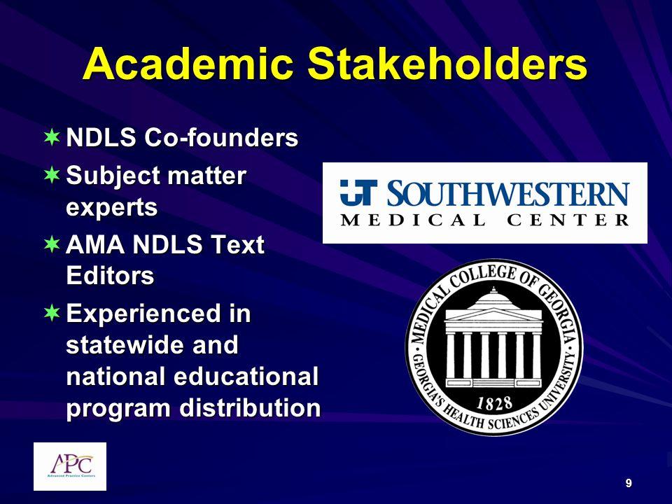 Academic Stakeholders
