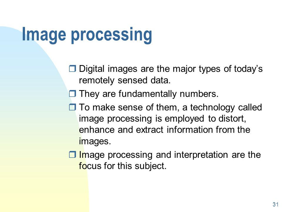 GEOG3610 Remote Sensing and Image Interpretation