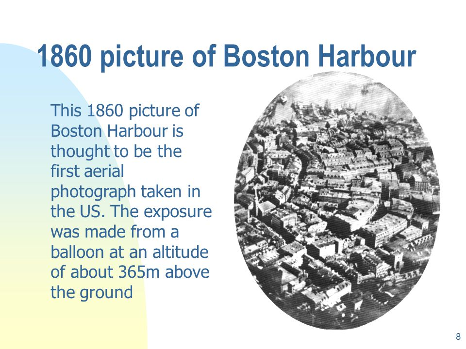 1860 picture of Boston Harbour