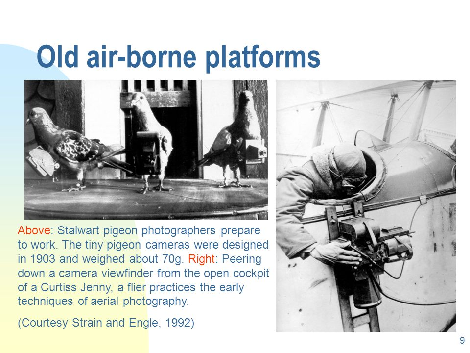 Old air-borne platforms