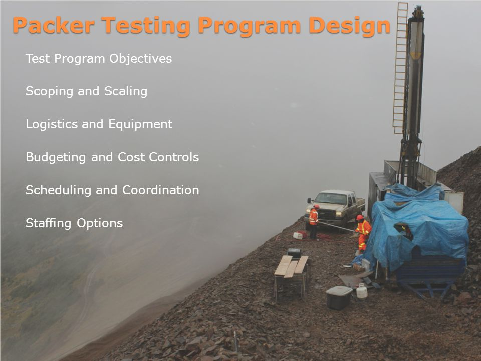 Packer Testing Program Design