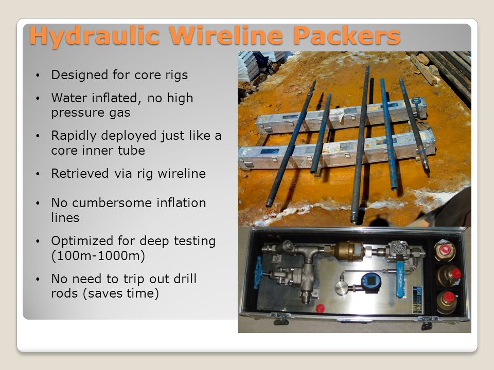 Hydraulic Wireline Packers