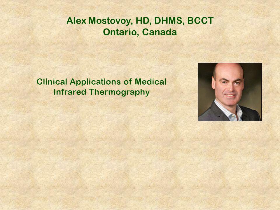 Alex Mostovoy, HD, DHMS, BCCT Ontario, Canada
