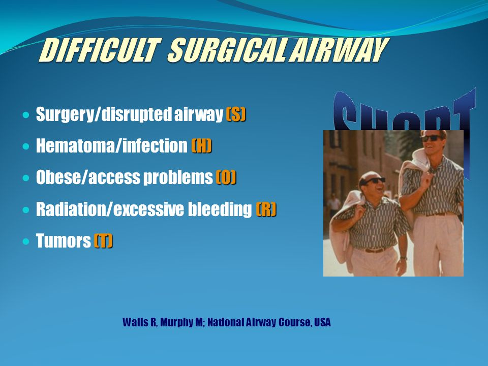 DIFFICULT SURGICAL AIRWAY