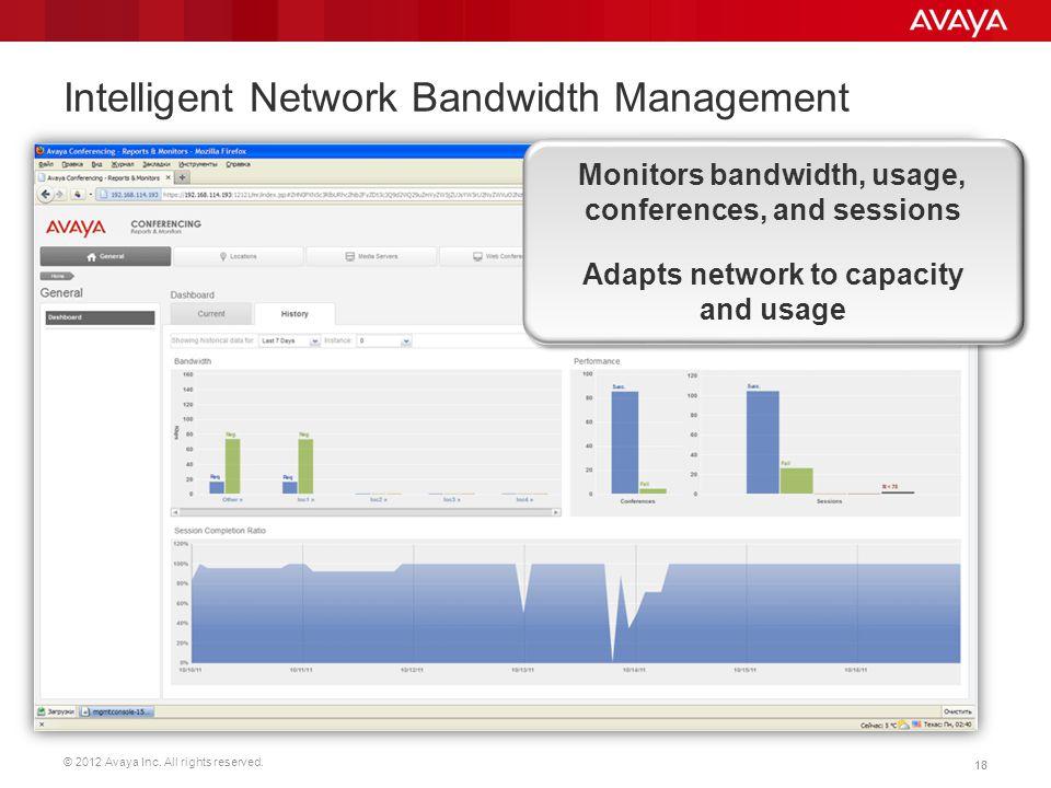 Intelligent Network Bandwidth Management