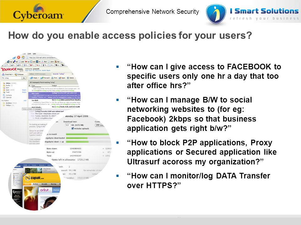 How do you enable access policies for your users