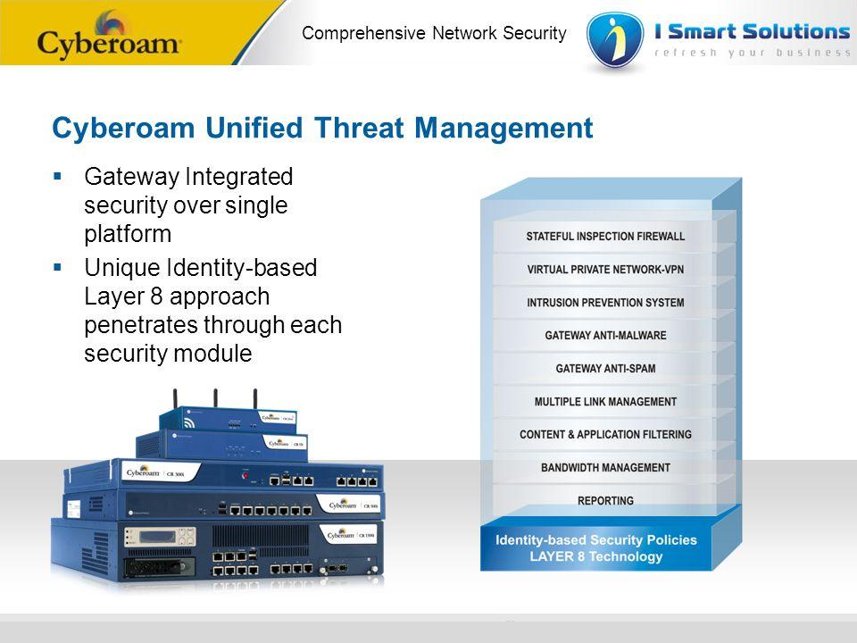 Cyberoam Unified Threat Management
