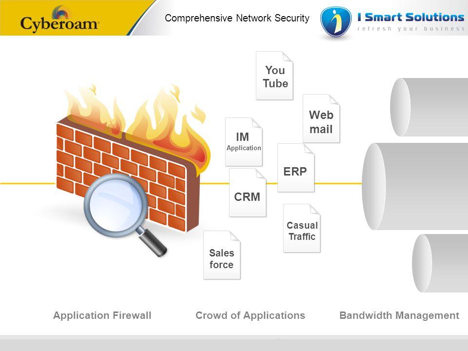 Web mail IM ERP CRM You Tube Application Firewall