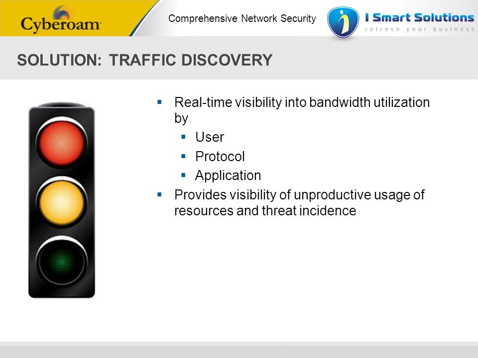 SOLUTION: TRAFFIC DISCOVERY