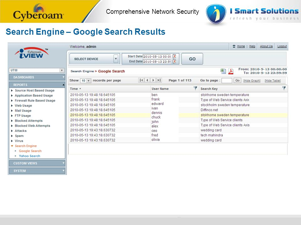 Search Engine – Google Search Results