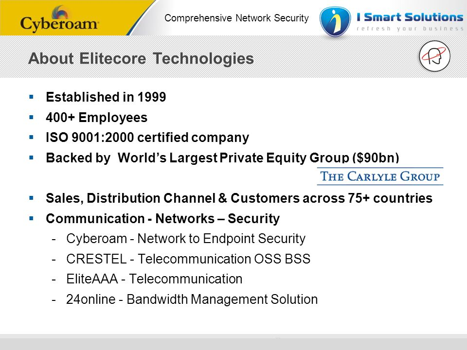 About Elitecore Technologies
