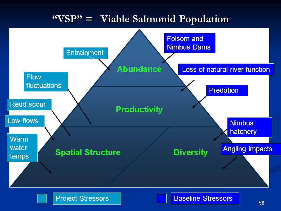 VSP = Viable Salmonid Population
