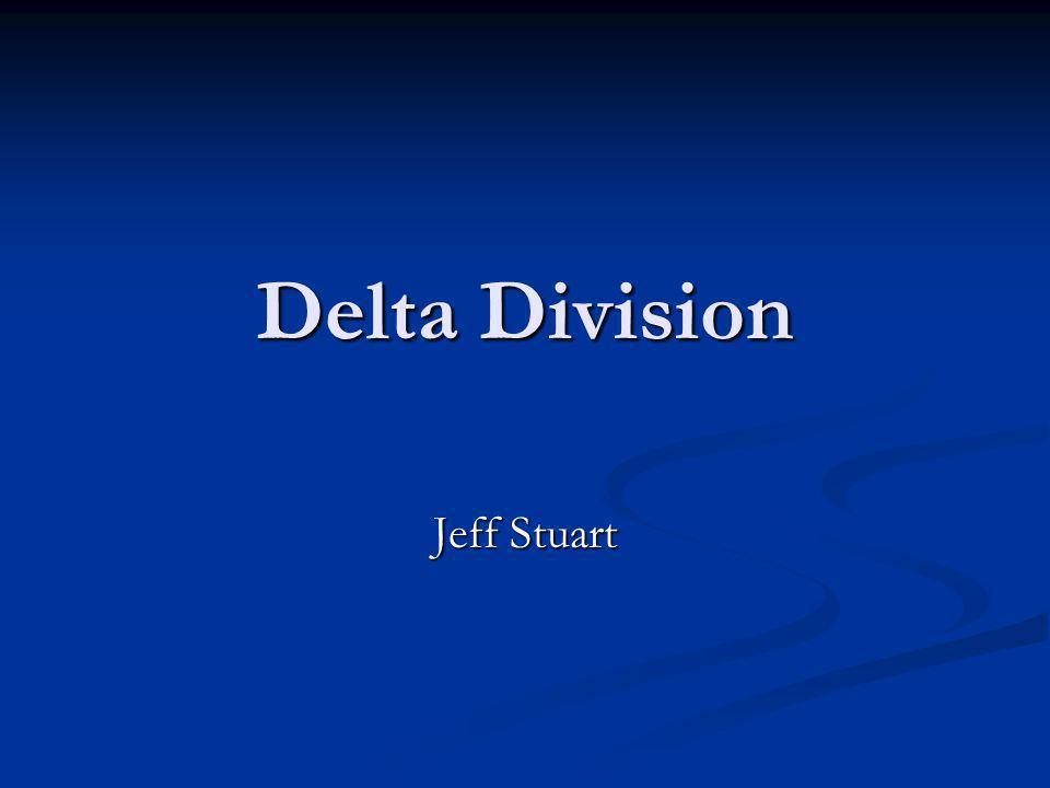 Delta Division Jeff Stuart