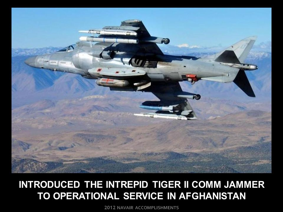 INTRODUCED THE INTREPID TIGER II COMM JAMMER TO OPERATIONAL SERVICE IN AFGHANISTAN