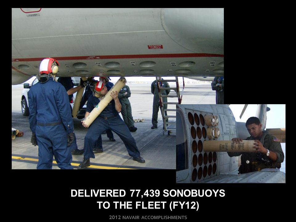 Delivered 77,439 sonobuoys to the fleet (FY12)