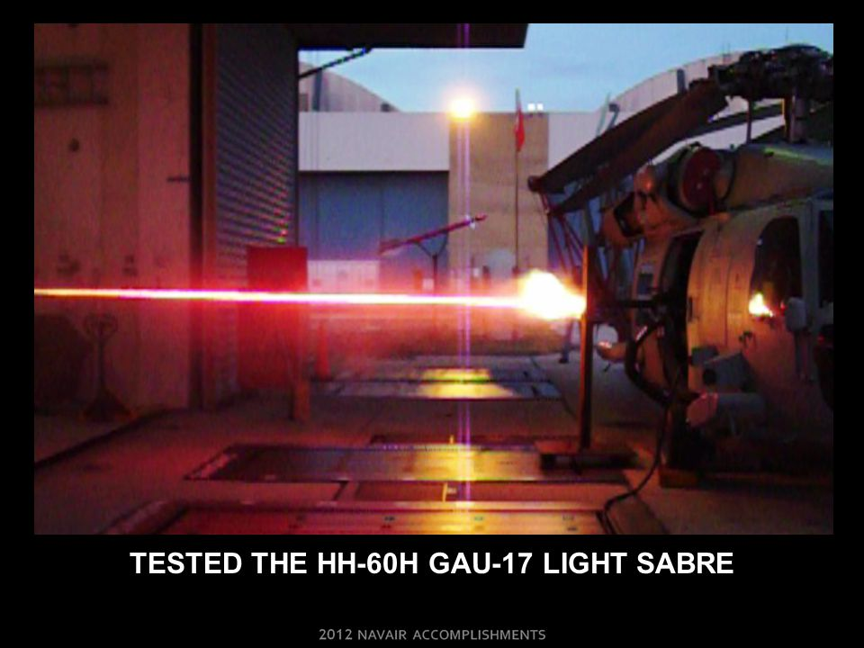 TESTED THE HH-60H GAU-17 LIGHT SABRE