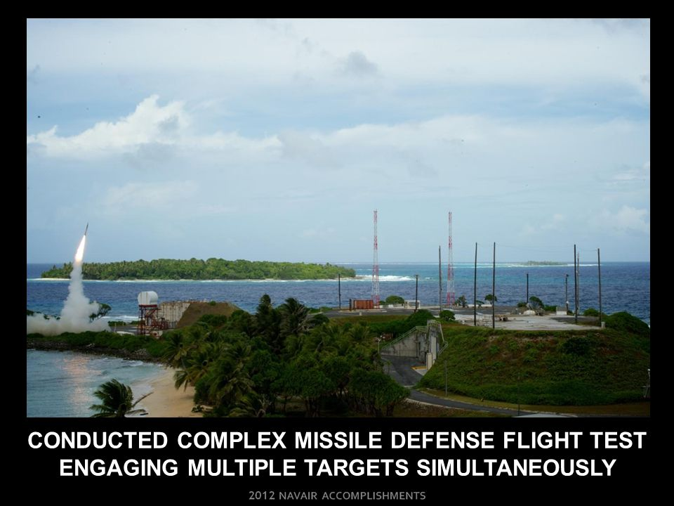 CONDUCTED COMPLEX MISSILE DEFENSE FLIGHT TEST ENGAGING MULTIPLE TARGETS SIMULTANEOUSLY