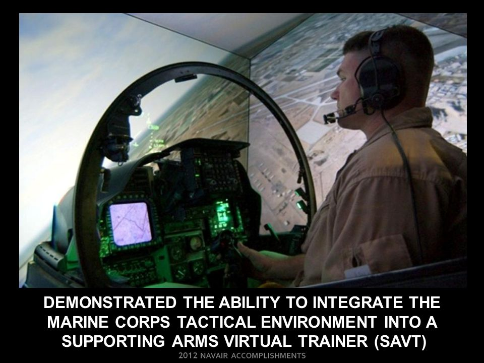 Demonstrated the ability to Integrate the marine corps tactical environment into a supporting arms virtual trainer (savt)