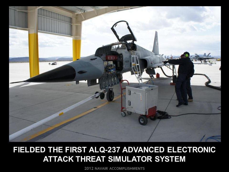 FIELDED THE FIRST ALQ-237 ADVANCED ELECTRONIC ATTACK THREAT SIMULATOR SYSTEM