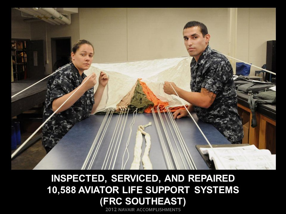 INSPECTED, SERVICED, AND REPAIRED 10,588 AVIATOR LIFE SUPPORT SYSTEMS (frc SOUTHEAST)