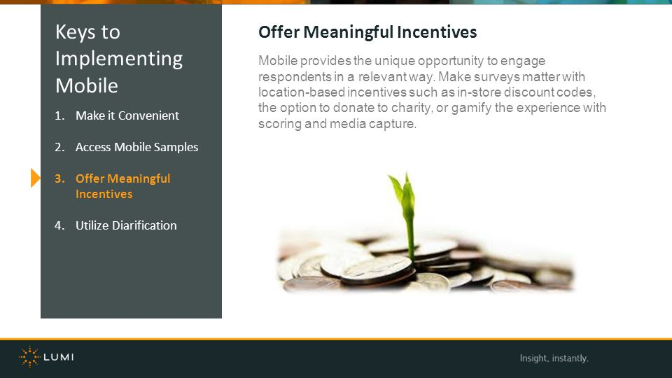Keys to Implementing Mobile Offer Meaningful Incentives