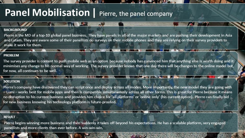 Panel Mobilisation | Pierre, the panel company