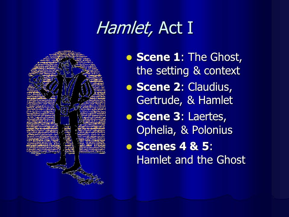 Hamlet, Act I Scene 1: The Ghost, the setting & context