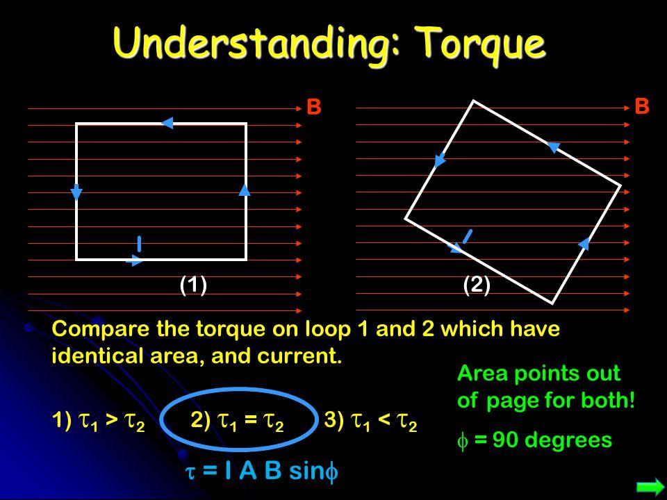 Understanding: Torque