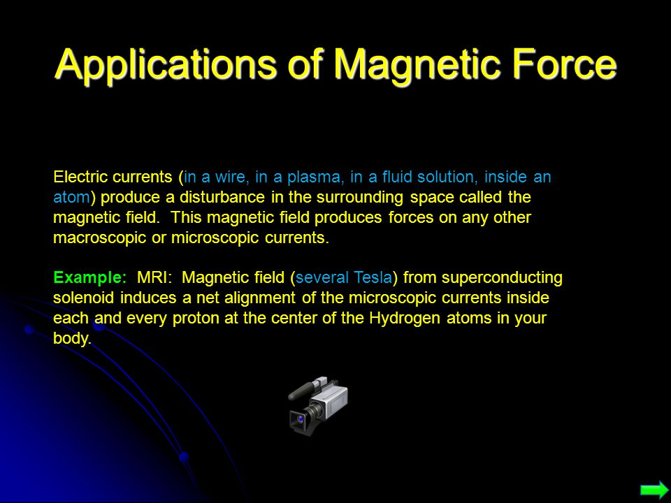 Applications of Magnetic Force
