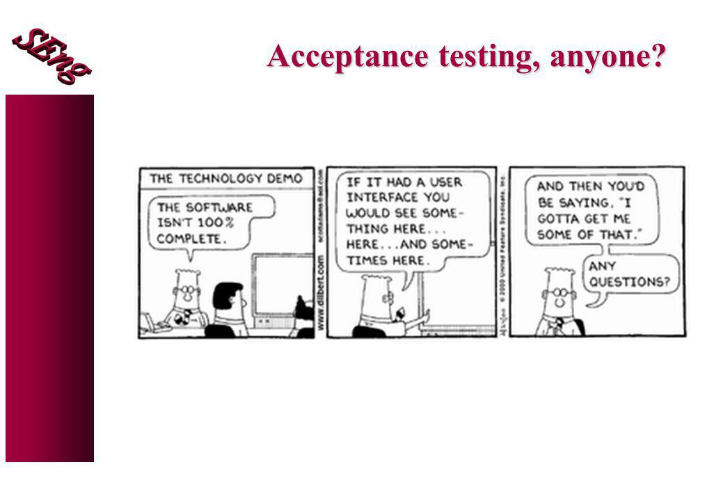 Acceptance testing, anyone