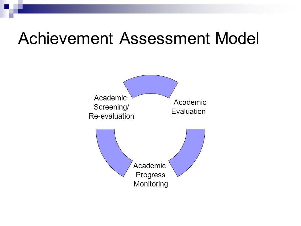 Achievement Assessment Model