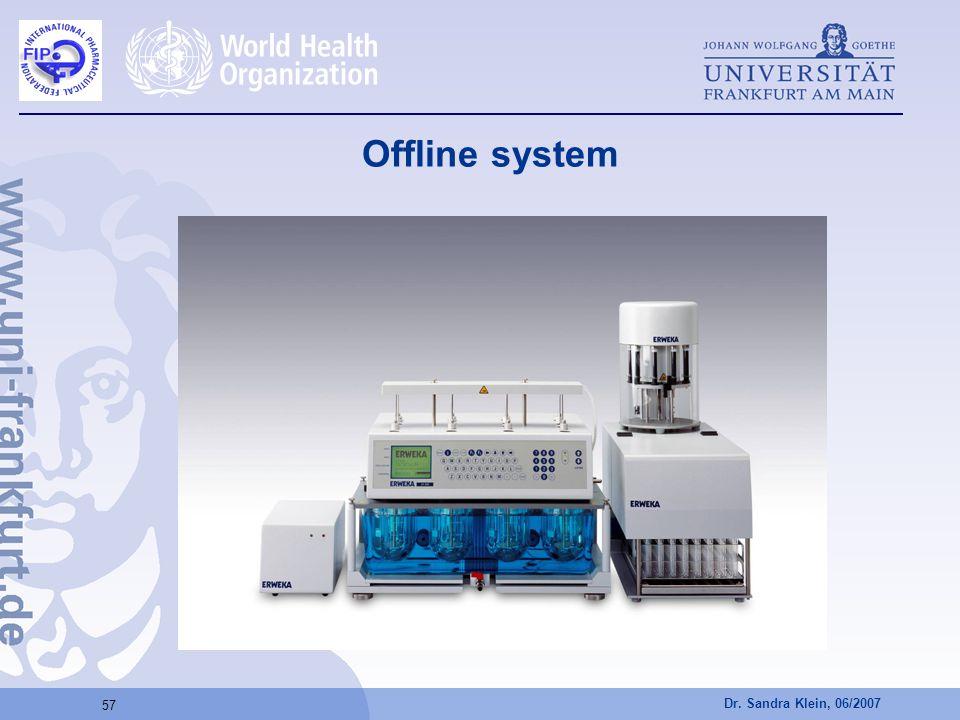 Offline system