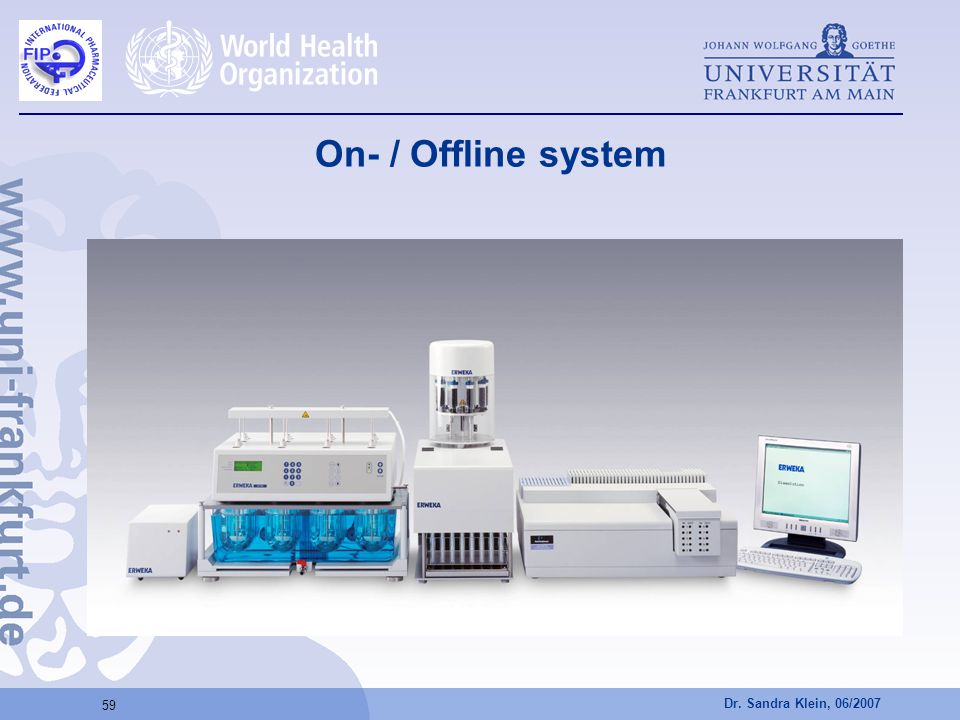 On- / Offline system