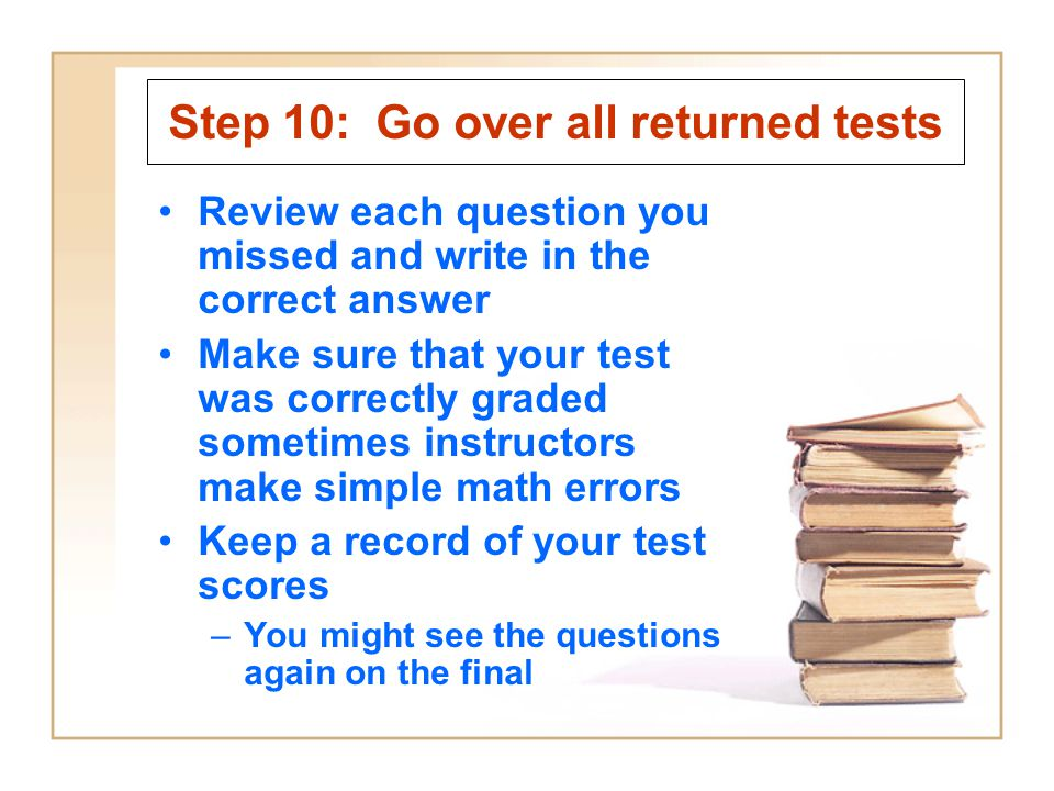 Test-Taking Strategies - ppt video online download