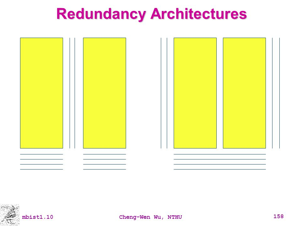 Redundancy Architectures