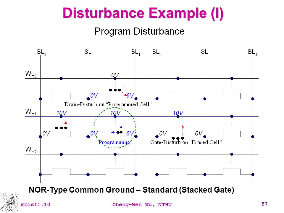 Disturbance Example (I)