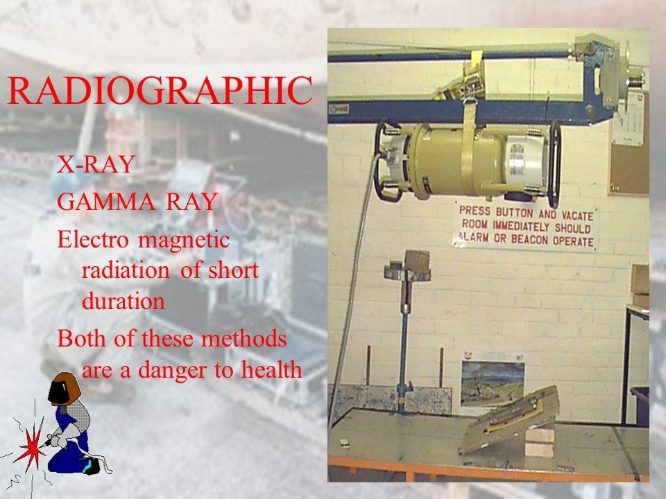 RADIOGRAPHIC X-RAY GAMMA RAY