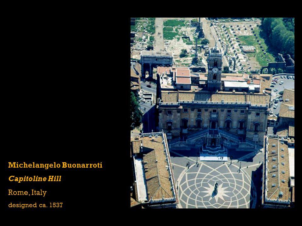 Michelangelo Buonarroti Capitoline Hill Rome, Italy