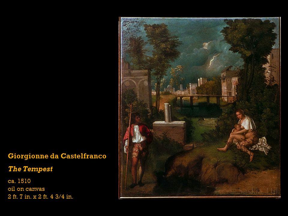 Giorgionne da Castelfranco The Tempest