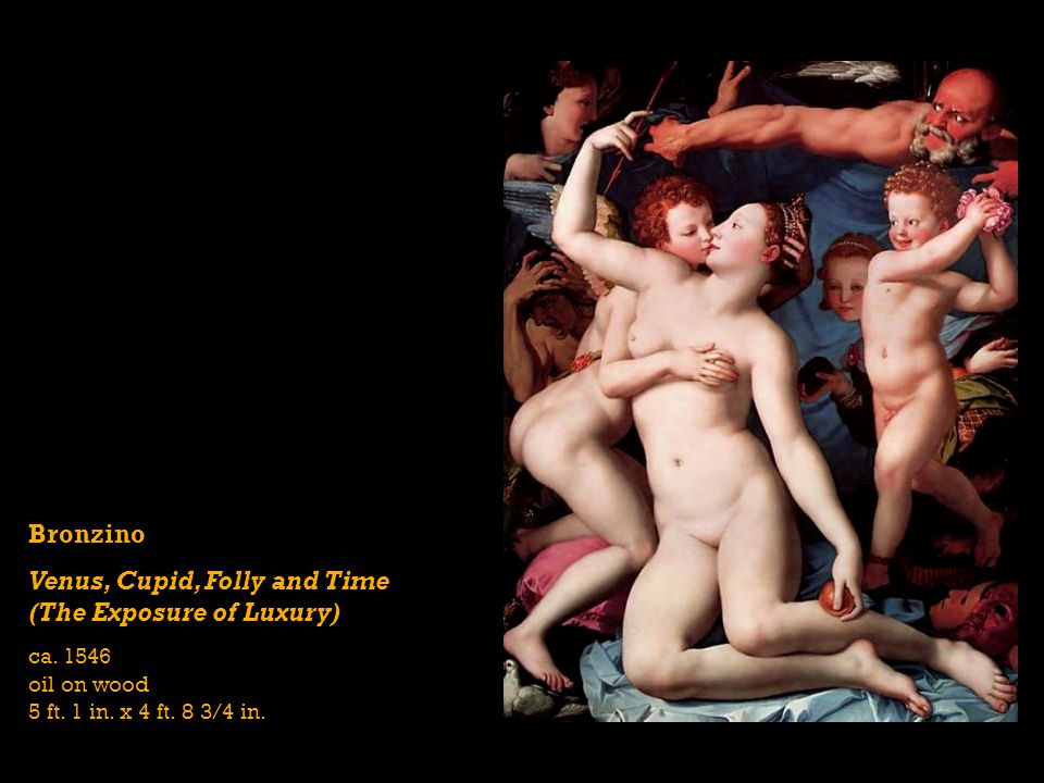 Venus, Cupid, Folly and Time (The Exposure of Luxury)