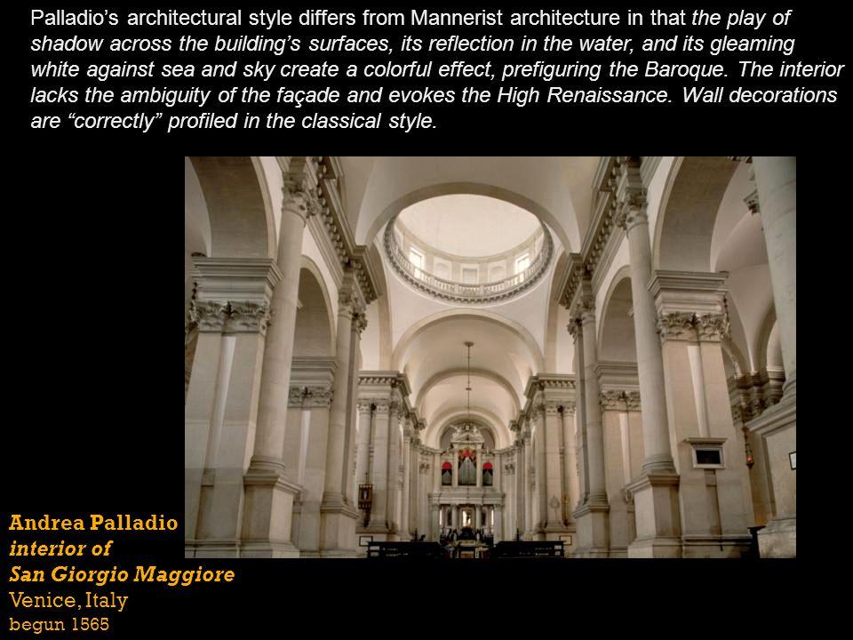 interior of San Giorgio Maggiore Venice, Italy