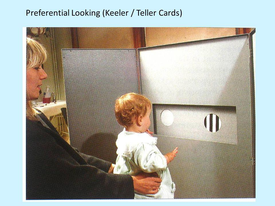 Preferential Looking (Keeler / Teller Cards)